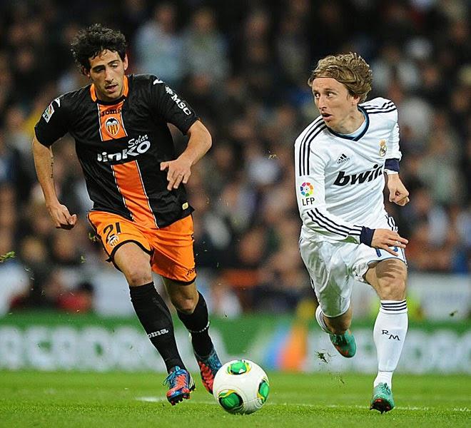 Luka Modric Dani Parejo Real Madrid Valencia quiniela