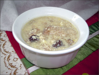 Sweet Milk Soup for Children
