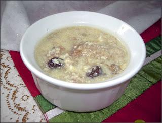 Sweet Milk Soup for Children