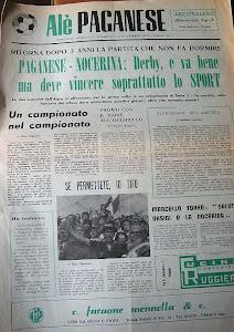 Il primo numero di ALE' PAGANESE