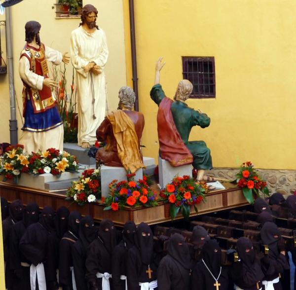 Paso de la Condena de Cristo. Manuel López Becker. Cofradía Santo Cristo del Perdón. León. Foto G. Márquez.