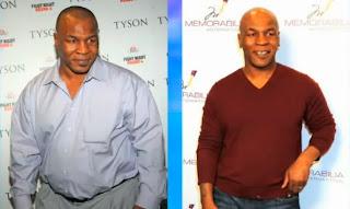 Mike Tyson perdeu peso e ganhou saúde com alimentação estritamente vegetariana