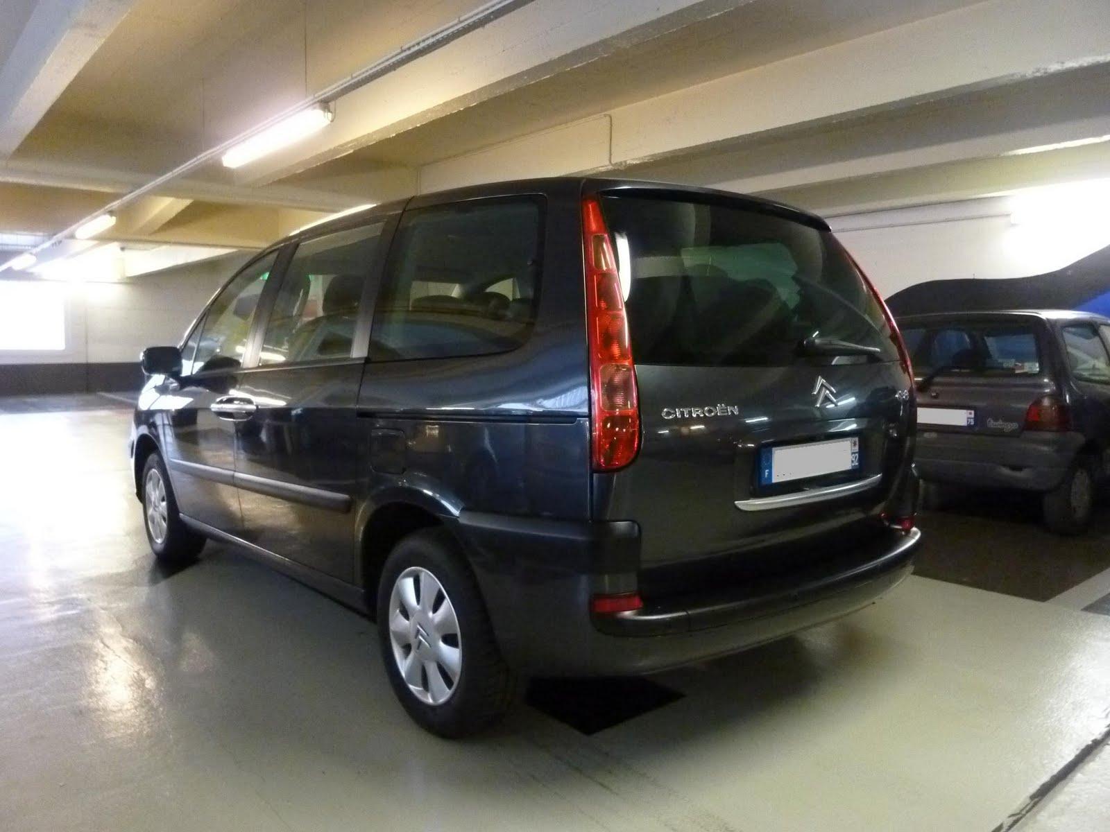 Vente automobile paris citro n c8 2 2l hdi pack 7 places for Interieur c8 8 places