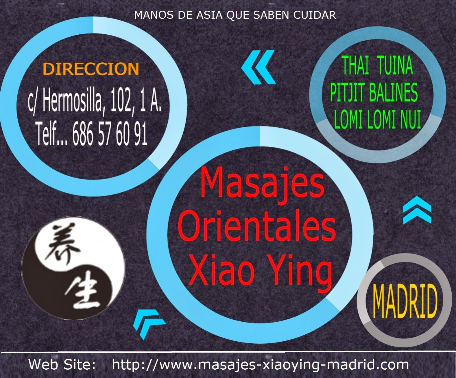 massage contact Madrid