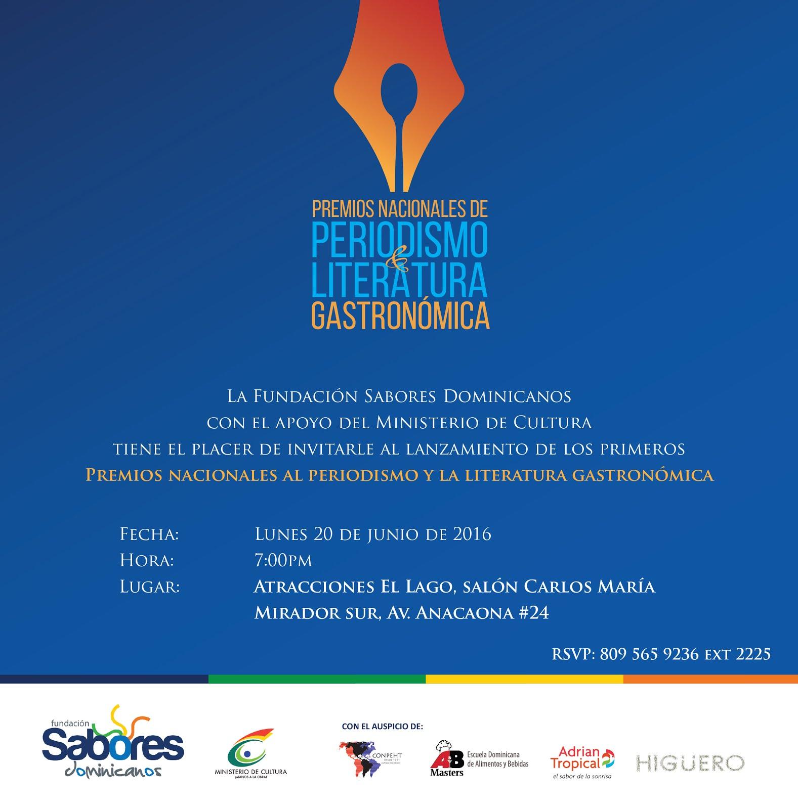 Premios Periodismo y Literatura Gastronómica
