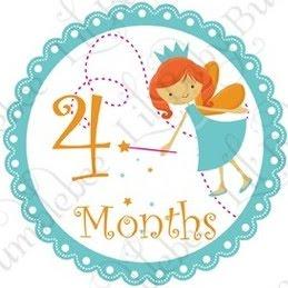 Felices 4 meses maia soy mama blog - Que hace un bebe de 4 meses ...