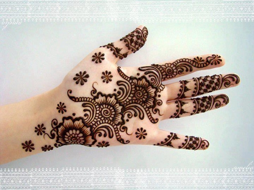 Simple Mehandi Designs For Hands And Legs Arabic, Bridal | AtoZ ...