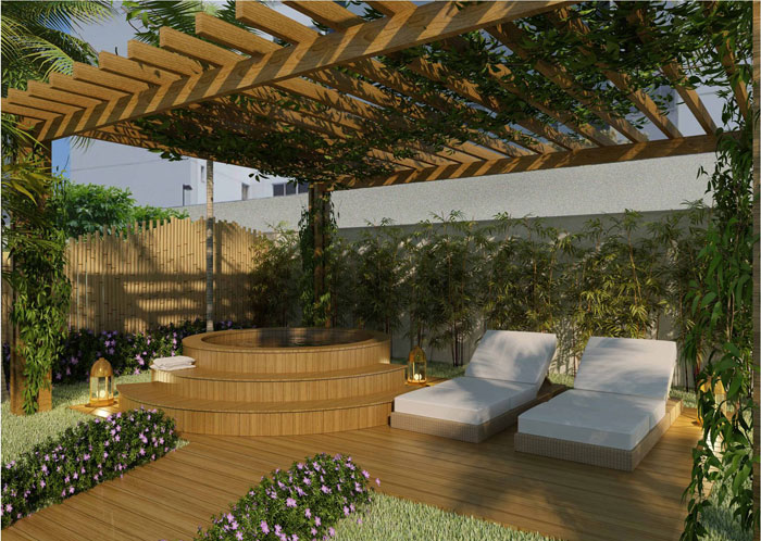 jardim para quintal grande ? Doitri.com