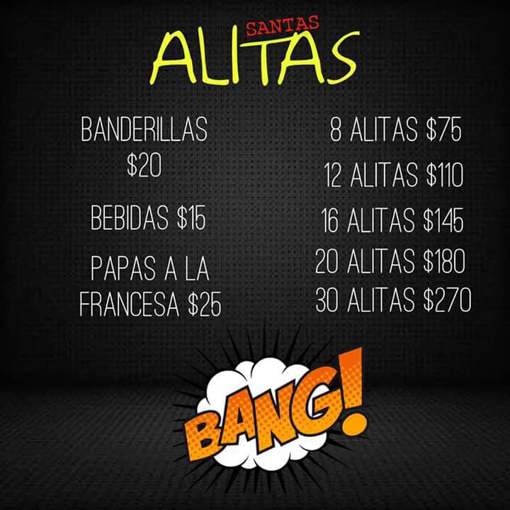 """""""Santa Alitas"""""""