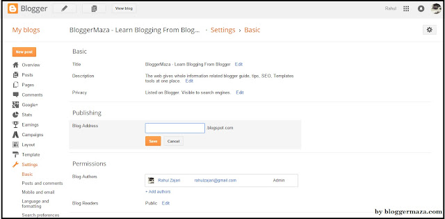 blogger-starter-guide-dashboard-step-by-step-introduction-settings