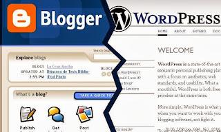 blogspot dan wordpress
