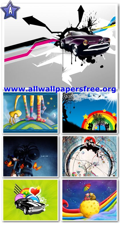 40 Abstract And Colorful Wallpapers 1280 X 1024 [Set 3]