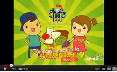 """VÍDEO DE YOUTUBE """"CAMPAÑA CONTRA LA OBESIDAD INFANTIL"""""""