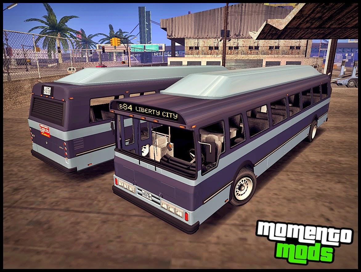 GTA SA - Ônibus Convertido Do GTA IV