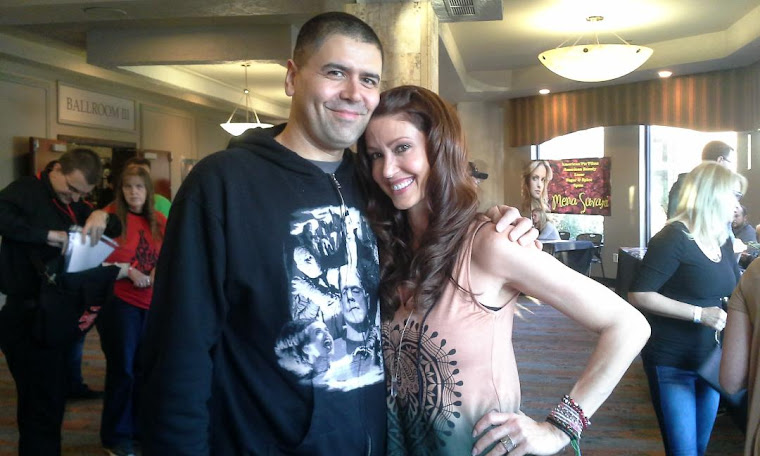 Me with Shannon Elizabeth