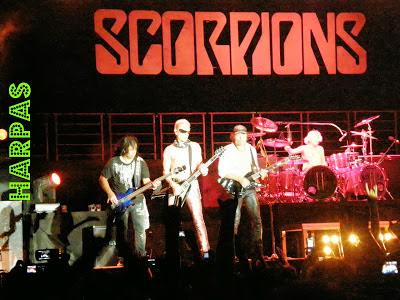 SCORPIONS :  Από τις καλύτερες συναυλίες του συγκροτήματος  ήταν  αυτή  στη  Ξάνθη (24-7-2009)