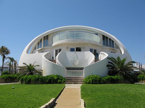 20 desain rumah paling unik di dunia