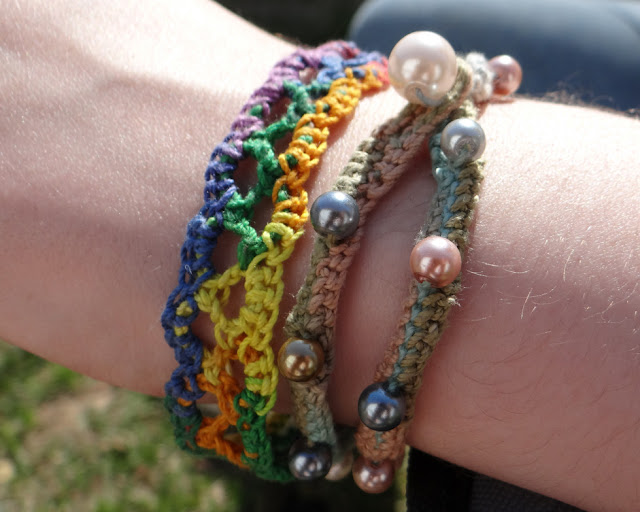 Crocheting Bracelets : Free Crochet Patterns: Free Crochet Jewelry Patterns