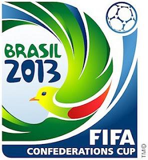 Logotipo oficial da Copa das Confederações 2013