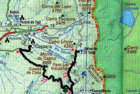 DE CASPANA A TATIO, MÁS LOS SEGUNDOS DIAS DE CALAMA - Blog CHILE ALASKA EN BICI