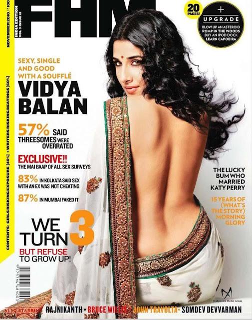 Vidya Balan in Hot Saree