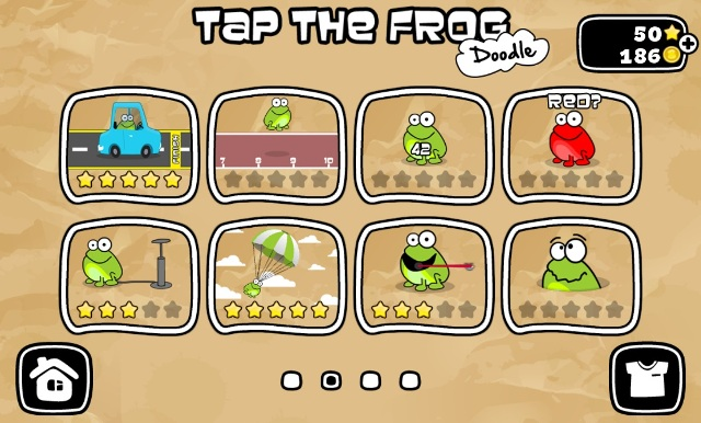 Juego Android Tap the Frog