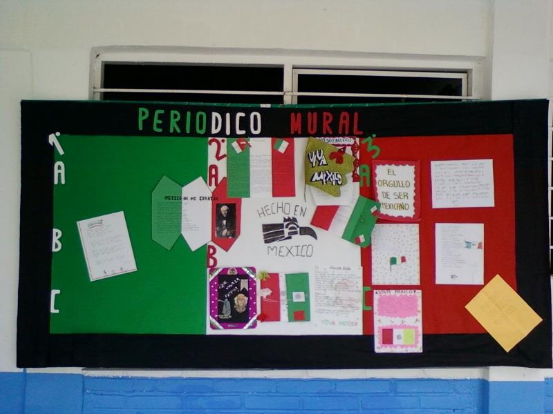 Bibliotecarrillo931@gmail.com: PERIÓDICO MURAL DEL MES DE SEPTIEMBRE