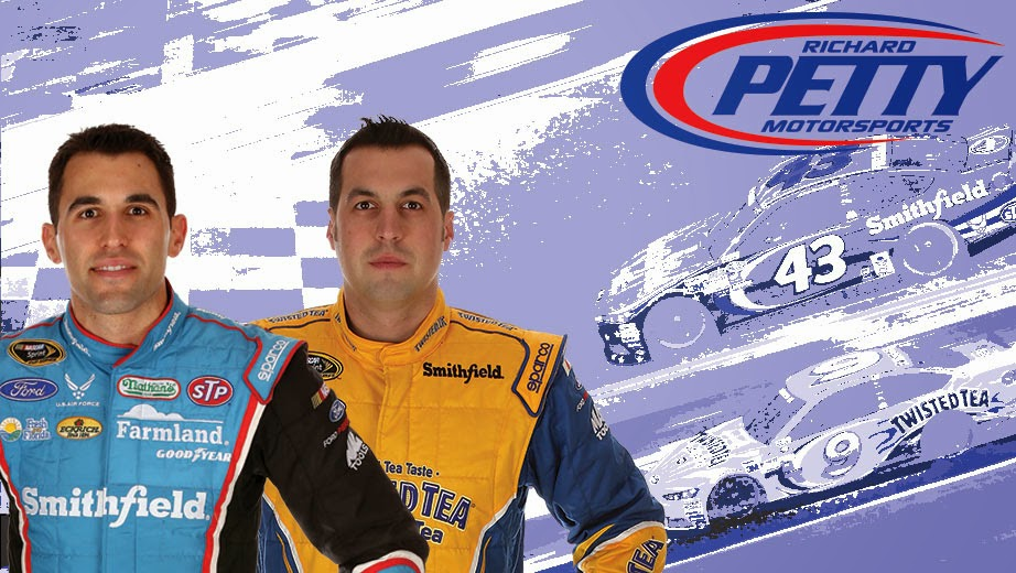 Richard Petty Motorsports = Aric Almirola and Sam Hornish Jr.