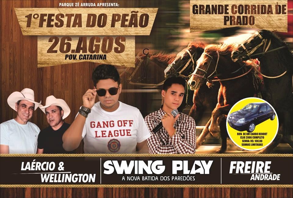 Grande evento no Povoado Santa Catarina, em Lago da Pedra