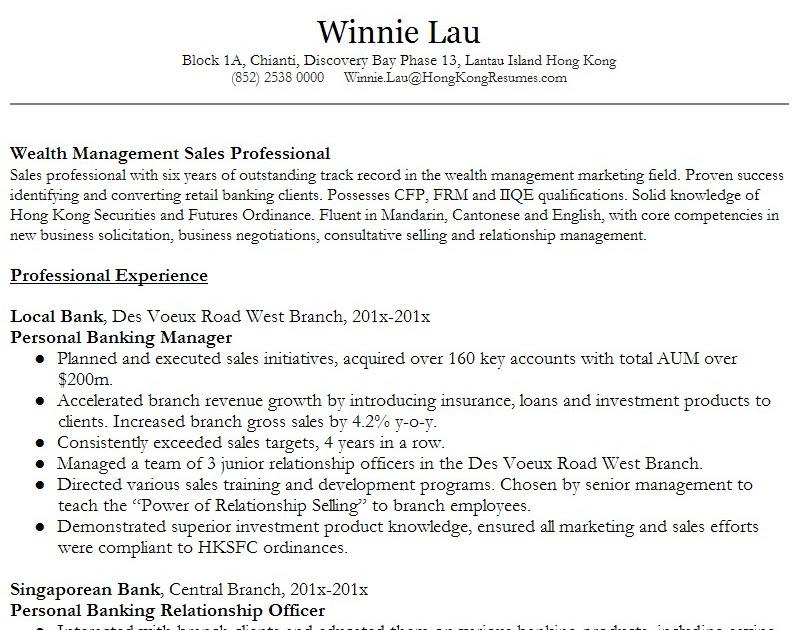 Senior Resume Package