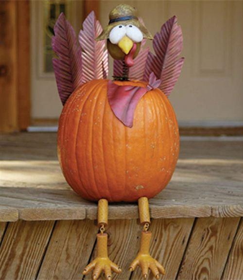 Unique Thanksgiving Turkey Decorations