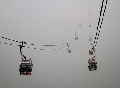 Ciudades conquistadas por la niebla - Telefericos