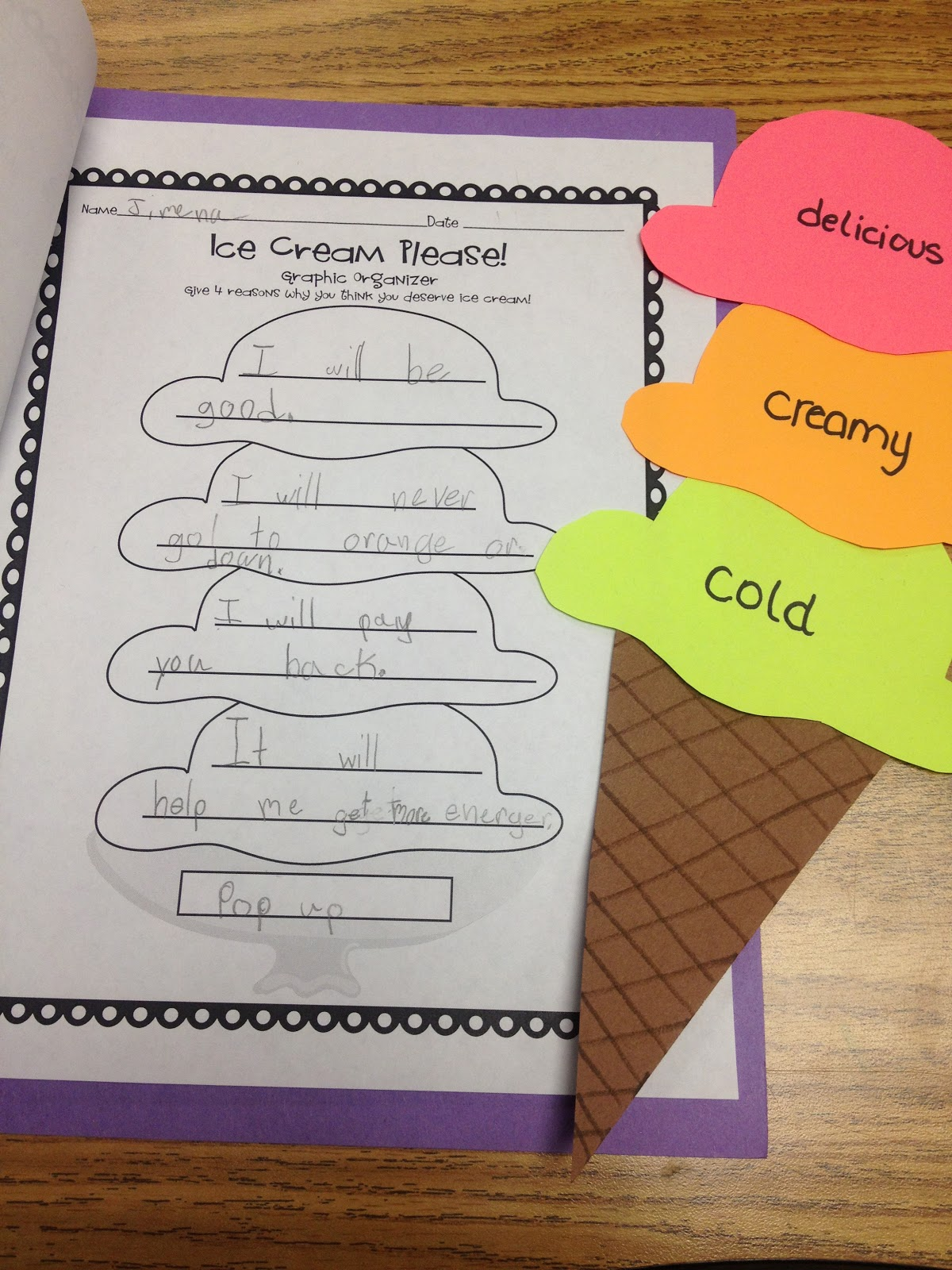 creative writing activities for elementary students