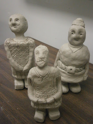 Clay Warriors inspired by Chinese Terra Cotta Warriors