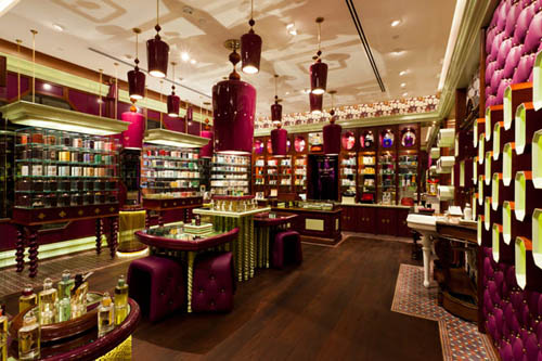 Penhaligon interior