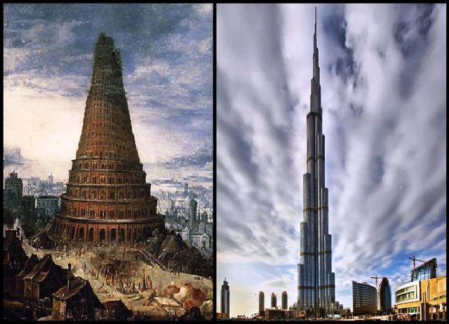 la torre de babel revela la intencin humana de alcazar al cielo