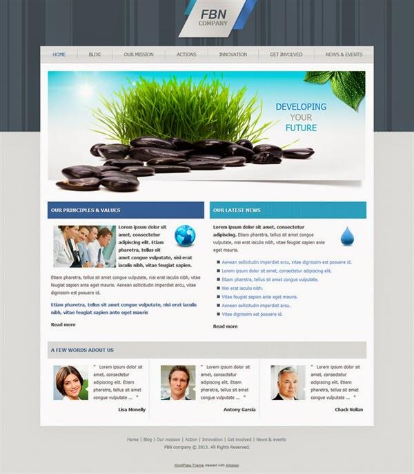 FBN Company - Free Wordpress Theme