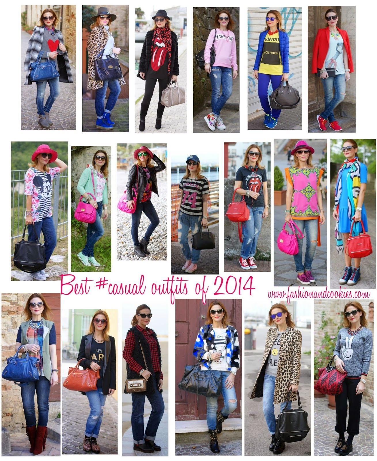 Welcome 2015, Benvenuto 2015, riepilogo outfit 2014, Happy New Year with Best Outfits of 2014 on Fashion and Cookies fashion blog
