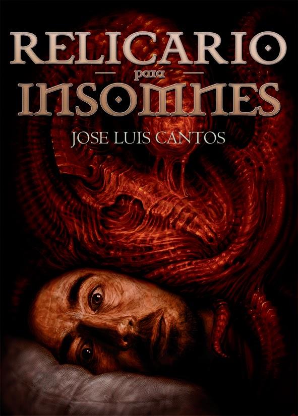 """Portada del libro """"Relicario para insomnes"""", de José Luis Cantos"""