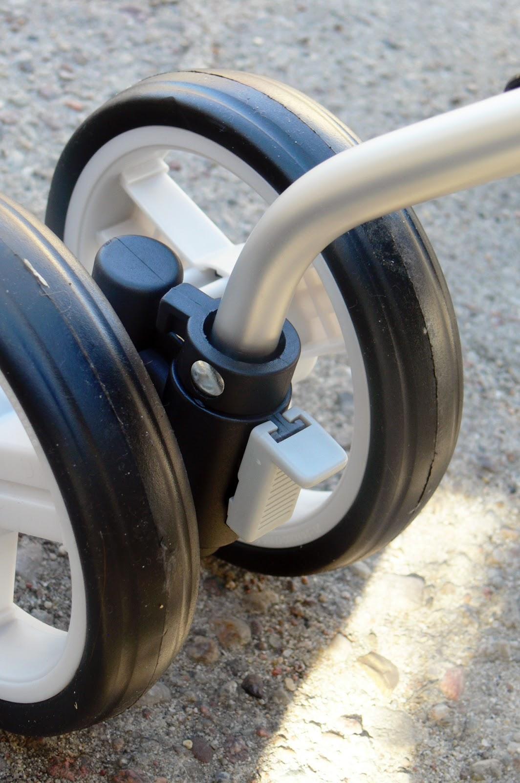wózek Caretero Gringo koła przednie