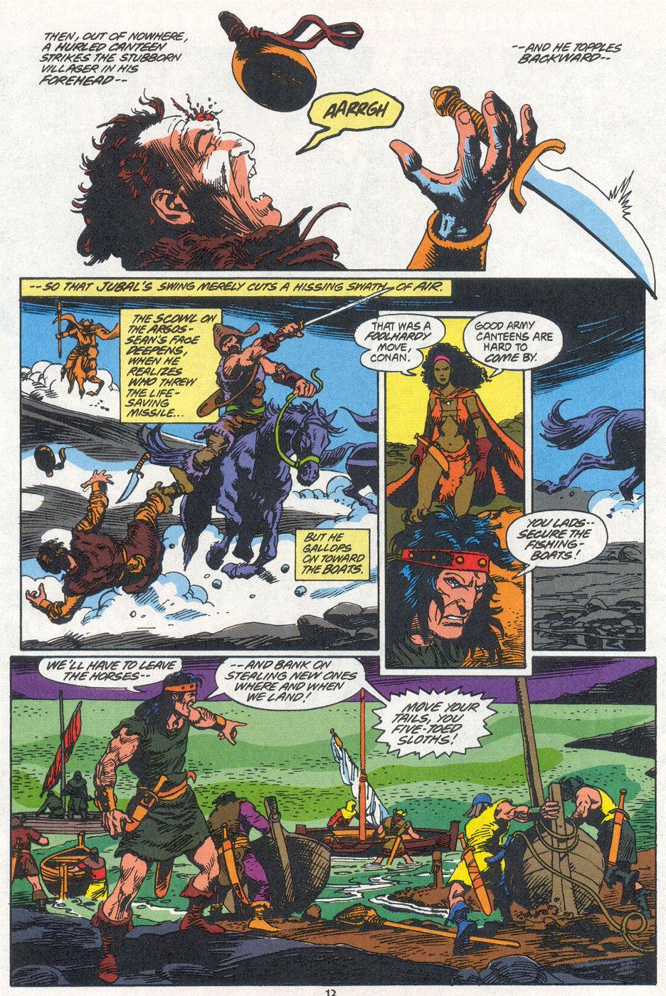 Conan the Barbarian (1970) Issue #270 #282 - English 9