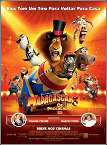 Madagascar 3 – Os Procurados Dublado