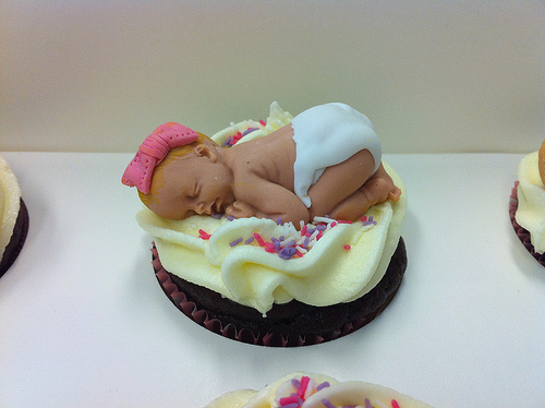 Baby Shower Cupcake Cakes Recipes : C for Cupcake Cupcakery: Realistic Baby Cake (Part I ...