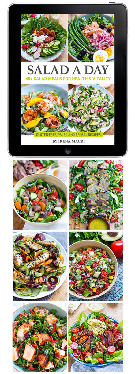 Get Irena Macri's Beautiful Salad eBook!