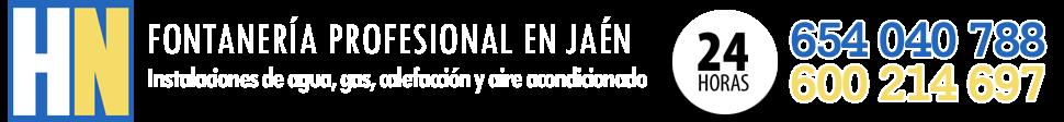 Fontaneros en Jaén | PRESUPUESTO GRATIS
