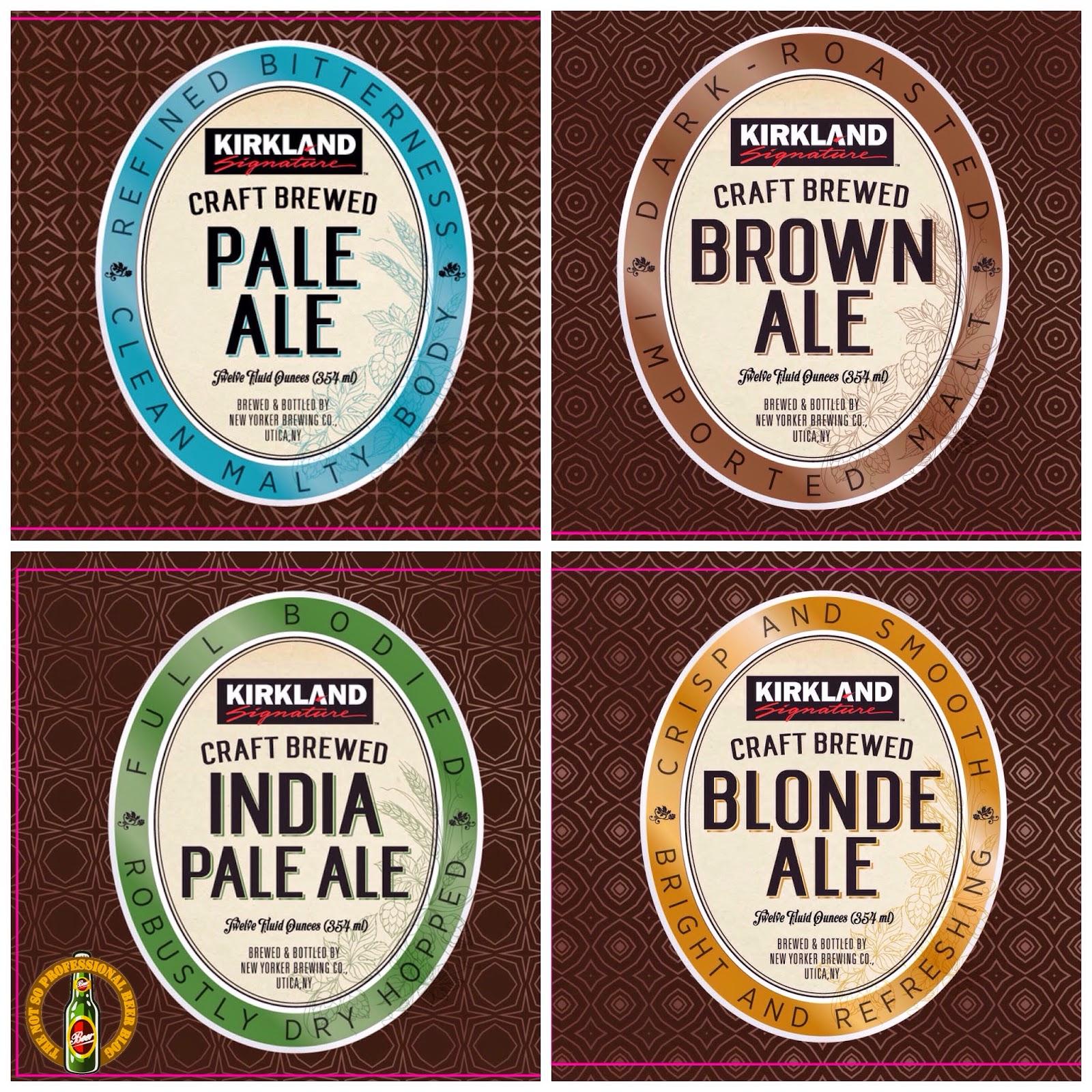 the not so professional beer blog costco u0027s new kirkland signature