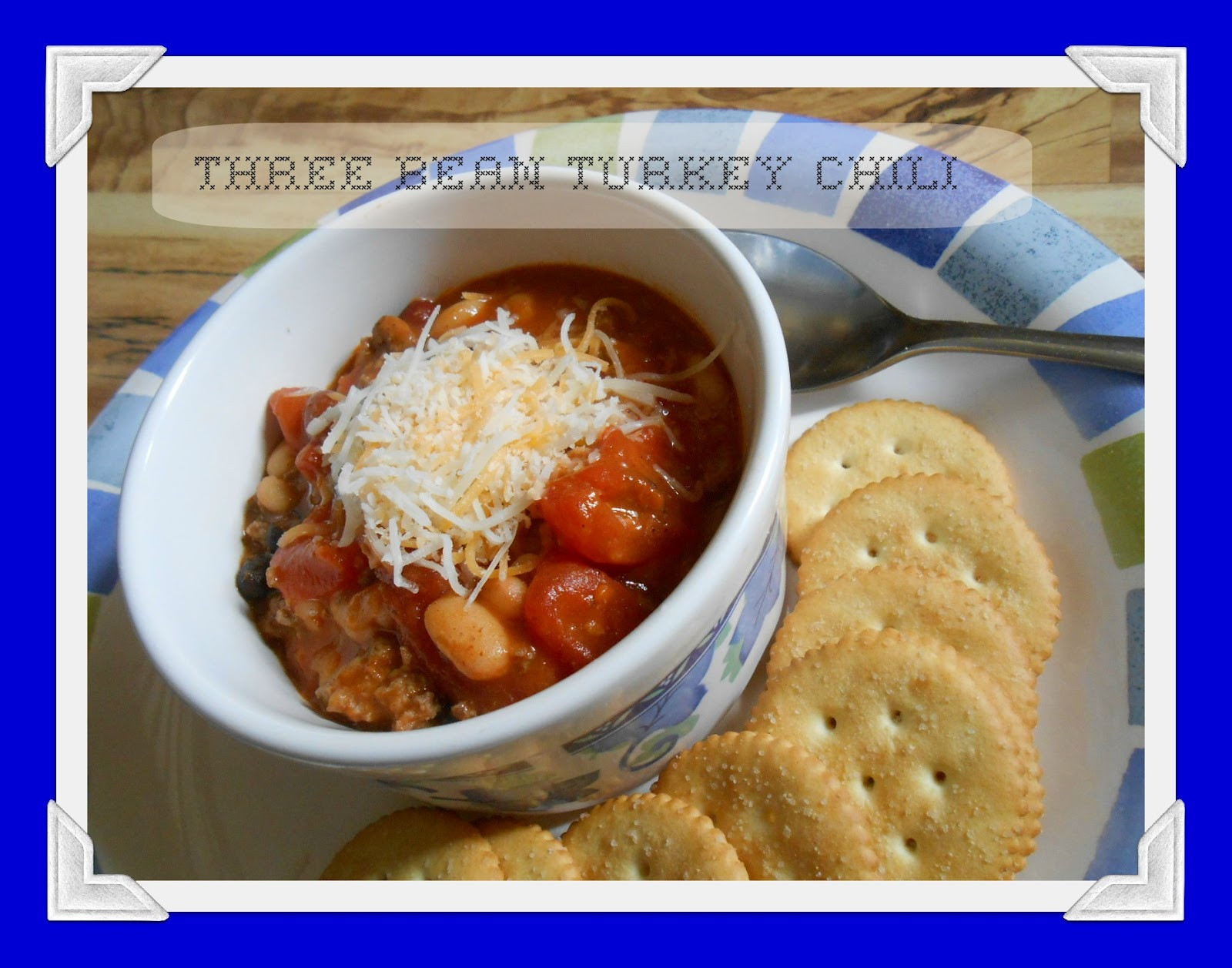 The Better Baker: Three Bean Turkey Chili {Crockpot}