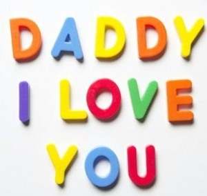 I Love You D Cards Colorful Wishes Happy Fathers Day Hd Wallpaper
