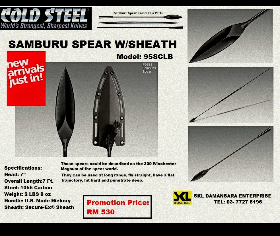 Cold Steel Light Samburu Spear