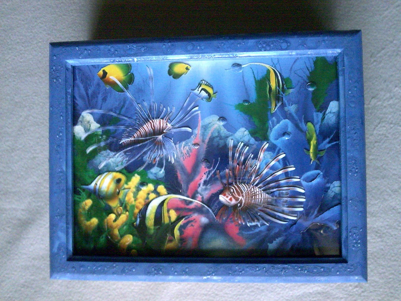Fundo Do Mar Decoupage